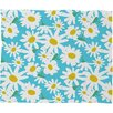 DENY Designs Zoe Wodarz Daisy Do Right Fleece Throw Blanket