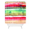 DENY Designs CayenaBlanca Ink Stripes Shower Curtain