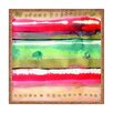 DENY Designs CayenaBlanca Ink Stripes Square Tray