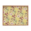 DENY Designs Pimlada Phuapradit Canary Floral Rectangle Tray