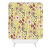 DENY Designs Pimlada Phuapradit Canary Floral Shower Curtain