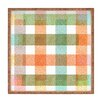 DENY Designs Zoe Wodarz Pastel Plaid Square Tray
