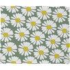 DENY Designs Georgiana Paraschiv Chamomile Fleece Throw Blanket