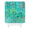 DENY Designs Kerrie Satava Summer Burst Shower Curtain