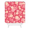 DENY Designs Lisa Argyropoulos Blossoms On Coral Shower Curtain