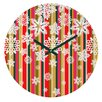 DENY Designs Aimee St Hill Flakes Wall Clock