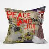DENY Designs Amy Smith Urban Holiday Throw Pillow