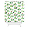 DENY Designs Andi Bird Help Me Holiday Woven Polyester Shower Curtain