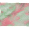 DENY Designs Caleb Troy Pastel Christmas Plush Fleece Throw Blanket
