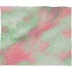 DENY Designs Caleb Troy Pastel Christmas Plush Fleece Throw Blanket