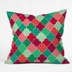 DENY Designs Jacqueline Maldonado Morocco Christmas Throw Pillow