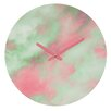 DENY Designs Caleb Troy Pastel Christmas Wall Clock