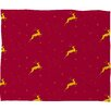 <strong>Jacqueline Maldonado Reindeer Stars Plush Fleece Throw Blanket</strong> by DENY Designs