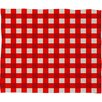 DENY Designs Holli Zollinger Gingham Plush Fleece Throw Blanket