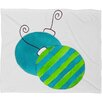 DENY Designs Laura Trevey Tis The Season Plush Fleece Throw Blanket