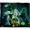 DENY Designs Randi Antonsen The Nordic Night Plush Fleece Throw Blanket
