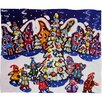 DENY Designs Renie Britenbucher Oh Christmas Tree Plush Fleece Throw Blanket