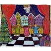 DENY Designs Renie Britenbucher Christmas Angel Plush Fleece Throw Blanket