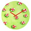 DENY Designs Rosie Brown Christmas Candy Wall Clock