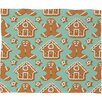 DENY Designs Sabine Reinhart Christmas Kitchen Plush Fleece Throw Blanket