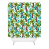 DENY Designs Aimee St Hill Tropical Christmas Woven Polyester Shower Curtain