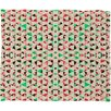 DENY Designs Caleb Troy Holiday Tone Shards Plush Fleece Throw Blanket