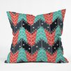 DENY Designs Sam Osborne Christmas Trees Throw Pillow