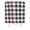 DENY Designs Zoe Wodarz Cozy Cabin Woven Polyester Shower Curtain