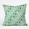 DENY Designs Zoe Wodarz Wonderland Forest Throw Pillow