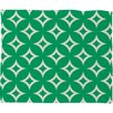 DENY Designs Holli Zollinger Emerald Diamonds Plush Fleece Throw Blanket