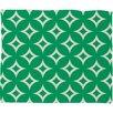 DENY Designs Holli Zollinger Emerald Diamonds Plush Fleece Throw Blanket