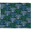 DENY Designs Loni Harris Menorahs Plush Fleece Throw Blanket