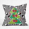 DENY Designs Zoe Wodarz Geo Pop Tree Throw Pillow
