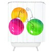 DENY Designs Laura Trevey Holiday Woven Polyester Shower Curtain