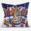 DENY Designs Renie Britenbucher Oh Christmas Tree Throw Pillow