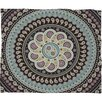 DENY Designs Belle13 Mandala Paisley Polyester Fleece Throw Blanket