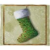 DENY Designs Madart Inc. Vintage Stocking Plush Fleece Throw Blanket