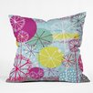 <strong>Rachael Taylor Snowflake Stems Throw Pillow</strong> by DENY Designs