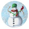 DENY Designs Madart Inc. Winter Cheer Wall Clock