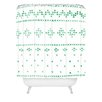DENY Designs Social Proper Holiday Sweater Woven Polyester Shower Curtain