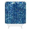 DENY Designs Social Proper Tinsel Ii Woven Polyester Shower Curtain