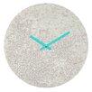 DENY Designs Social Proper Snowballs Wall Clock