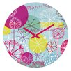 <strong>Rachael Taylor Snowflake Stems Wall Clock</strong> by DENY Designs