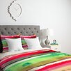 DENY Designs CayenaBlanca Ink Stripes Duvet Cover