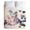 DENY Designs Gabi Lightweight Wink Wink Duvet Cover