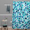 DENY Designs Khristian A Howell Woven Polyester Baby Beach Bum 6 Shower Curtain