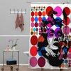 DENY Designs Randi Antonsen Polyester Poster Heroins 6 Shower Curtain
