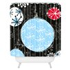 DENY Designs Rachael Taylor Bauble Magic Woven Polyester Shower Curtain