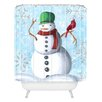 DENY Designs Madart Inc. Winter Cheer Woven Polyester Shower Curtain