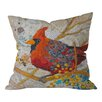 DENY Designs Elizabeth St Hilaire Nelson Cardinal Throw Pillow